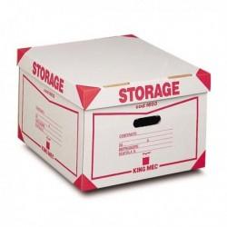 Contenitore Storage con coperchio KING MEC 41x27x43 cm 00160300 (conf. 12 Pz)
