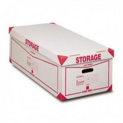 Contenitore Storage con coperchio KING MEC 38.5x26x75.5 cm 00160400 (8 Pz)