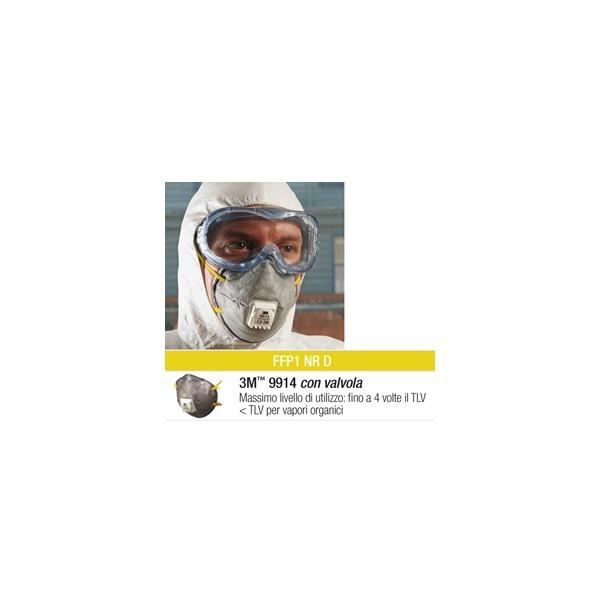 maschera 3m 9914