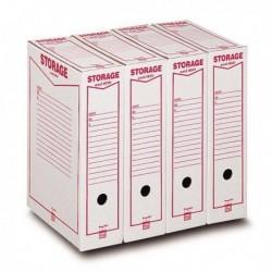 Scatole archivio Storage KING MEC 8.5x31.5x22.3 cm A4 00160100 (conf. 32 Pz)