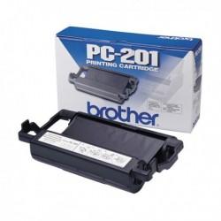 Nastro TTR Originale BROTHER PC-201 per 1010, 1010E, 1010Plus, 1020, 1020E, 1020