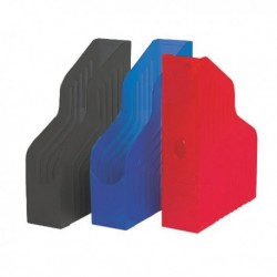 Portariviste Magazine Rack - BLU - REXEL 00045004 - 25x32 cm dorso 8 cm.