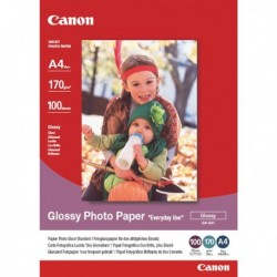 Risma 100 Fg. A4 CANON Glossy Photo Paper BJ Media GP-501 - 170 gr.