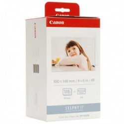 Originale CANON 3115B001 Kit TTR + Carta KP-108IN colore per Compact Photo Selph