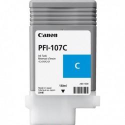 Cartuccia Originale CANON PFI-107C 6706B001 CIANO 130 ml.