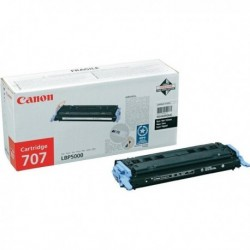 Originale CANON 9424A004 Toner 707 BK NERO per i-Sensys LBP5000, LBP5100.