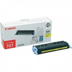 Originale CANON 9421A004 Toner 707 Y GIALLO per i-Sensys LBP5000, LBP5100.