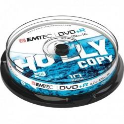 DVD+R 4.7 GB 16X Spindle da 10 Pz EMTEC ECOVPR471016CB.