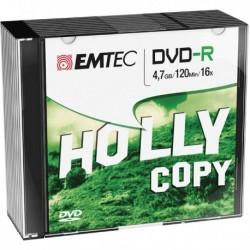 DVD-R EMTEC 4.7 GB 16X Slim Case (10 Pz).
