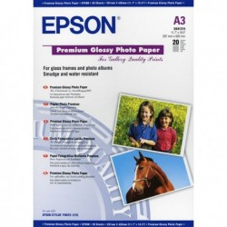 Carta Fotografica Premium 'Best' EPSON - A3 - C13S041315 (20 Fg.)