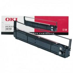 Originale OKI 09002308 Nastro NERO per Microline 3410. Durata: 10 Milioni car