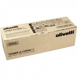 Originale OLIVETTI B0360 Toner NERO per d-copia 15, 20. Durata: 11,000 Pag.