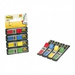 Miniset 140 Segnapagina POST-IT Index 683-4 in 4 colori 12x43.6 mm. (6 Pz)