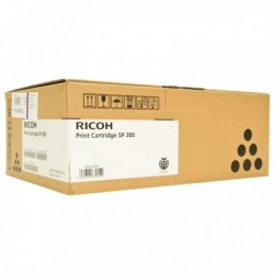 Originale RICOH 406956 Toner NERO SP 300 per Aficio SP 300DN. Durata: 1,500 Pag.