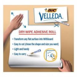 Fogli Lavagna adesivi cancellabili Velleda Roll - 67x100 cm - Bic 870493