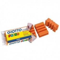 Pasta Modellabile PONGO - ARANCIO - 450 gr. GIOTTO plastilina a colori