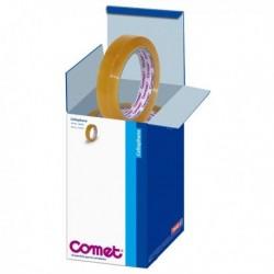 Nastro adesivo in cellophane - 15 mm. X 66 Mt. 64-160 COMET (conf. 10 Pz)