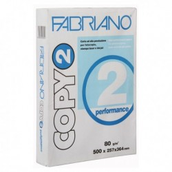 Carta COPY 2 B4 80 gr. 500 Fg. PERFORMANCE FABRIANO 25.7x36.4 (5 Pz)