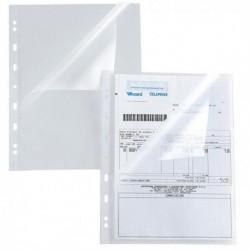 Buste forate a L trasparenti Atla-150A 22x30 cm SEI ROTA (25 Pz)