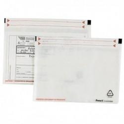 100 Buste adesive SPEEDY DOC PT 190x125 mm FAVORIT in politene semitrasparente
