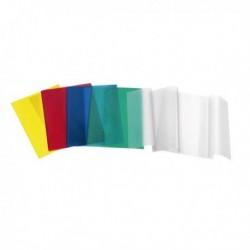 Coprimaxi satinato universale PVC Goffrato NEUTRO con alette (conf. 25 Pz)