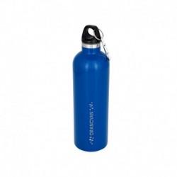 Borraccia termica sottovuoto Atlantic - in acciaio - 530 ml - Blu