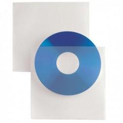 Buste porta CD/DVD Soft SEI ROTA 657529 (25 Pz) busta trasparente in PPL