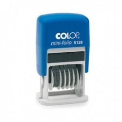 Numeratore autoinchiostrante S126 COLOP - Timbro numeratore autoinchiostrante