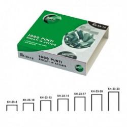 1000 Punti per Cucitrice KH-23/10 per Alti Spessori LEBEZ (1 Conf. da 1000 Pz)