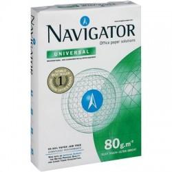 Carta NAVIGATOR universal - A3 - 80 gr. 500 Fg. (5 Pz) 29.7 x 42 cm