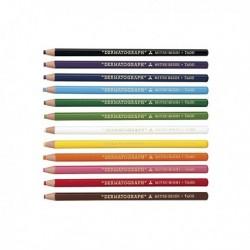 Matita Dermatografica 7600 GIALLO (conf. 12 Pz) ideale per scrivere e marcare