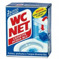 WC NET cassetta blu water (2 Pz) agisce sciogliendosi gradualmente