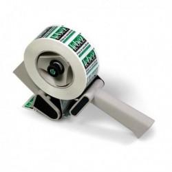 Tendinastro manuale con frizione OPEN LEBEZ 08 per nastri fino a 50 mm.