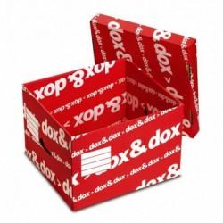 Scatola DOXDOX con Coperchio 395x280x355 mm REXEL (12 Pz)