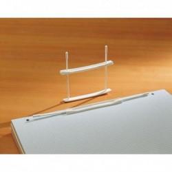 12 Fastner Pressini in plastica E212 passo 80 - capacita' 6 cm