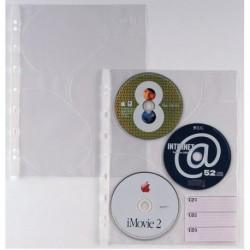 Buste trasparenti ATLA CD 3 SEI ROTA - 662509 (10 Pz) in PP liscio