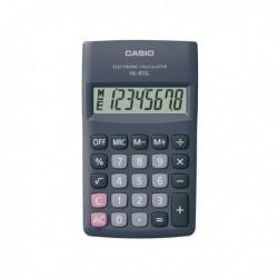 Calcolatrice HL-815L BL 8 cifre Tascabile CASIO Ampio Display 8 cifre