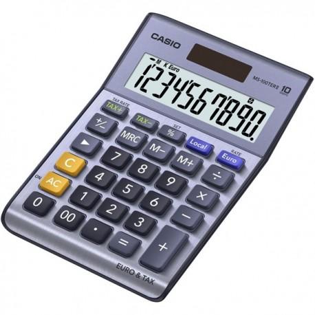 Calcolatrice da tavolo MS-100TERII CASIO con ampio Display