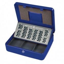 Cassetta Portavalori METALPLUS EUROPA 30x24x9 cm BLU struttura in metallo