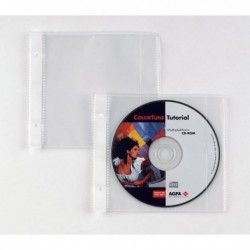 Buste porta CD/DVD per album porta Cd/Dvd - Disco 25 SEI ROTA - 662507 (25 Pz)
