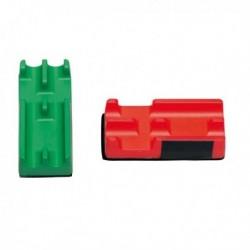 Cancellino magnetico per lavagne con portapennarelli LEBEZ 979