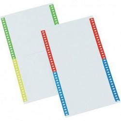 Cartoncino per cartelle sospese Pack 10 Fg. A4 da 40 cartoncini 140 mm