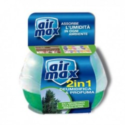 Mangiaumidità deodorante 2 in 1 AIR MAX 40 gr BREZZA ALPINA D0122