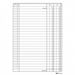 Modulo Blocco Registro CASSA ENTRATE / USCITE 24x17 cm da 100 Pag. E2686