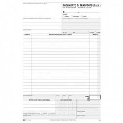 Modulo Blocco DDT SNAP 3 copie Autoricalcanti da 100 Fg. 29.7x21 cm EDIPRO E9029