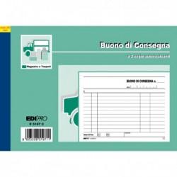 Blocco BUONI di CONSEGNA 50/50 da 12x17.5 cm Ricalcabili E5197C EDIPRO