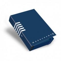 Cartella Portaprogetti MONOCROMO con elastico dorso 7 cm Colori Assortiti (3 Pz)
