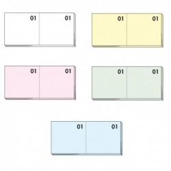 Set 10 Blocchetti Numerati da 100 Numeri (numerato 1-1000) 6x13 cm (5 Conf.)