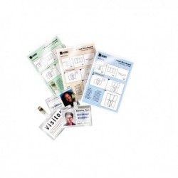 Pouches piccoli formati 125 mic Jumbo Card 75x105 mm GBC 3740303 (100 Pz)