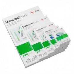 Pouches piccoli formati 250 mic Governament Card 65x95 mm GBC 3740432 (100 Pz)